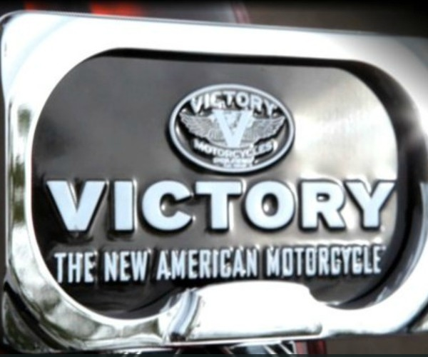 Victory License Plate